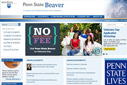 Penn State Beaver website